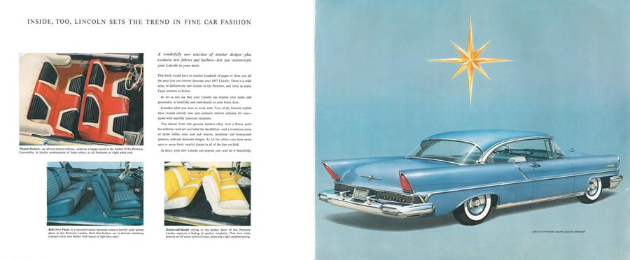 Lincoln Premiere 1957 - Ford, US-Car, Oldtimer, Kliker, OWL on